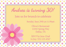 wedding brunch invitation wording polka dot brunch birthday invitation card exle emuroom