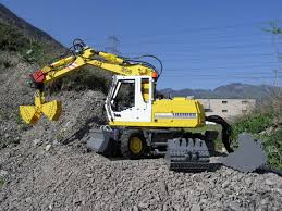 liebherr a 314 litronic mobile excavator