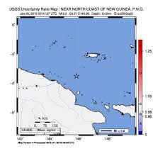 map n m 6 3 189km n of madang papua new guinea