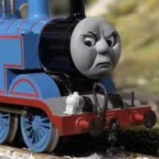 Thomas The Tank Engine Meme - thomas reactions thomas reacts twitter