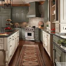 painted cabinets in neutral colors u2013 sage with cocoa glaze and