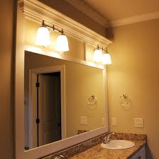 Custom Bathroom Mirror Custom Framed Mirrors For Bathrooms Free Designs Interior