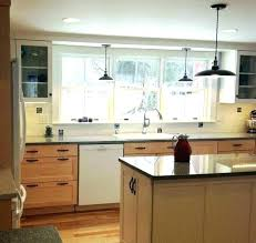 light fixture over kitchen sink kitchen sink light sink lighting best ideas about kitchen pleasing