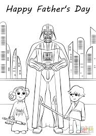 star wars father u0027s day coloring page free printable coloring pages