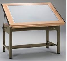 Draft Tables Drafting Tables With Light Drawing Table Draft Furniture