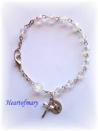 how to make a rosary heart of how to make a rosary bracelet