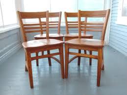 vintage buckstaff set of four kitchen chairs dining