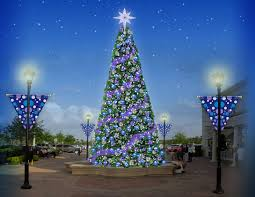 Commercial Shopping Center Christmas Decorations by Downtown Decorations Inc Lifestyle Center Commercial Christmas