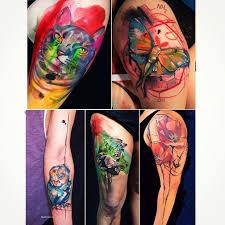 moth flowers animals watercolor tattoos best tattoo ideas gallery