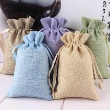 burlap drawstring bags online get cheap burlap bag aliexpress alibaba