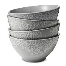 tilla stoneware cereal bowls 17oz set of 4 threshold target