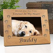 dog memorial dog memorial frame custom personalized with dog s
