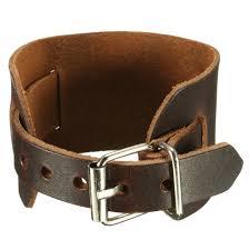 leather bracelets for men punk unisex women men genuine leather bracelet wristband bangle at