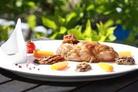 plat cuisine restaurant au rouget cantal cuisine terroir maître restaurateur