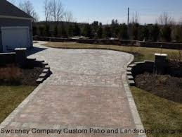 Driveway And Patio Company Driveways Sweeney Company Custom Patio And Landscape Designs