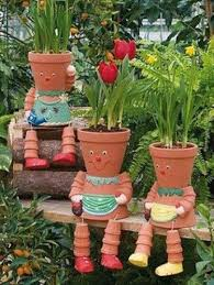 Pinterest Gardening Crafts - 87 best decoracion para jardin images on pinterest gardening