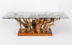 designer coffee table in oak fine furniture maker