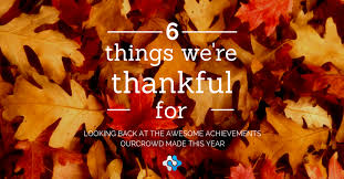 happy thanksgiving 6 awesome things we re thankful for this year