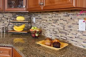 cement tile backsplash black and white cabinets rustic granite