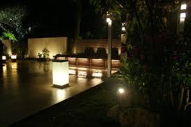 led garden lighting ideas