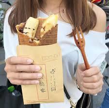 vid駮 de cuisine yummyday 美味日子 高雄駁二很夯的香蕉煎餅 充滿日式風格的小攤位吃過