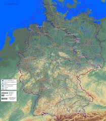 Germany Map Freiburg by Thematic Maps And City Maps Climate