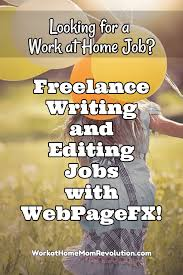jobs for freelance writers and editors webpagefx freelance writing and editing jobs