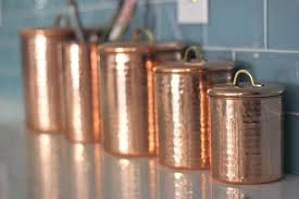 copper canisters kitchen my kitchen tess