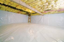 crawl space insulation great article renovating my house