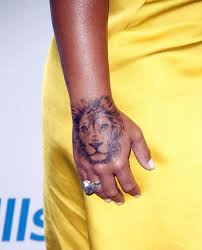 demi lovato stuns fans as she shows off huge tattoo of a lion on