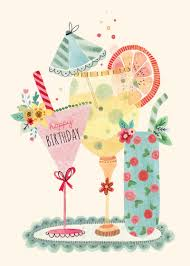 birthday martini clipart greeting cards birthday felicity french illustration see more