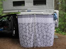 Outdoor Shower Curtains About Outside Rv Showers