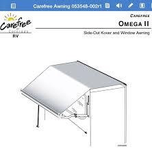 Carefree Awning Need Help With Slide Topper Fabric Replacement