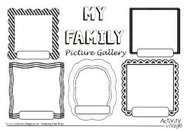 my family worksheet free worksheets library download and print
