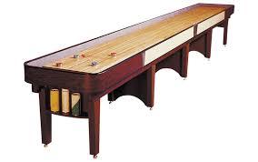 Shuffle Board Tables Ambassador Shuffleboard Table Wooden Shuffleboard Table