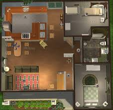 open floor plans for small houses mod the sims cottage bungalow