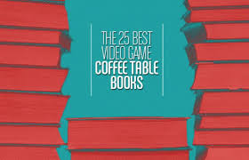 the 25 best video game coffee table books complex