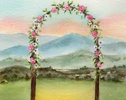 wedding arches inside wedding arbor etsy