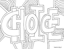 doodle alley coloring pages paginone biz