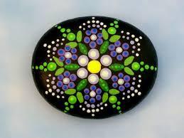 Painted Rocks For Garden by Jewel Drop Mandala Stones Painted Rocks Healing Meditation