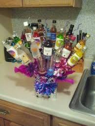 liquor gift baskets 8 best bday ideas images on