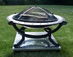 what to put under a fire pit on grass or wooden deck outdoor