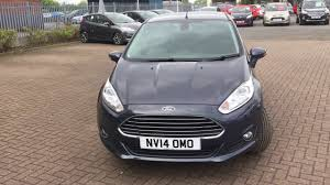 used ford fiesta 1 0 ecoboost titanium 5dr grey 2014 youtube