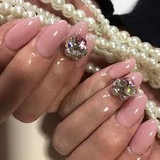 pink beige nail nails nailart naildesign acrylicnails