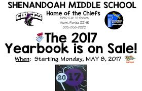 yearbook sale 2017 yearbook sale shenandoah middle school