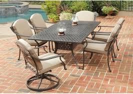 cast aluminum patio furniture sets