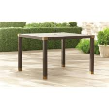 brown jordan patio furniture sale patio dining tables patio tables the home depot