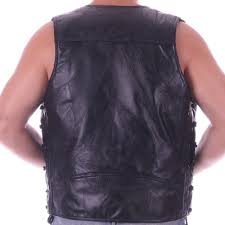 mens leather motorcycle vest compare prices on sheep motorcycle online shopping buy low price