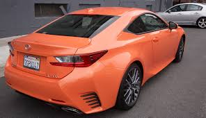 lexus sport orange lexus rc 350 f sport review techcrunch