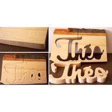 prenom en bois pour chambre prénom en bois naturel pour chambre d enfant cadeau de naissance